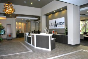 Leasing Desk The Addison at Tampa Oaks