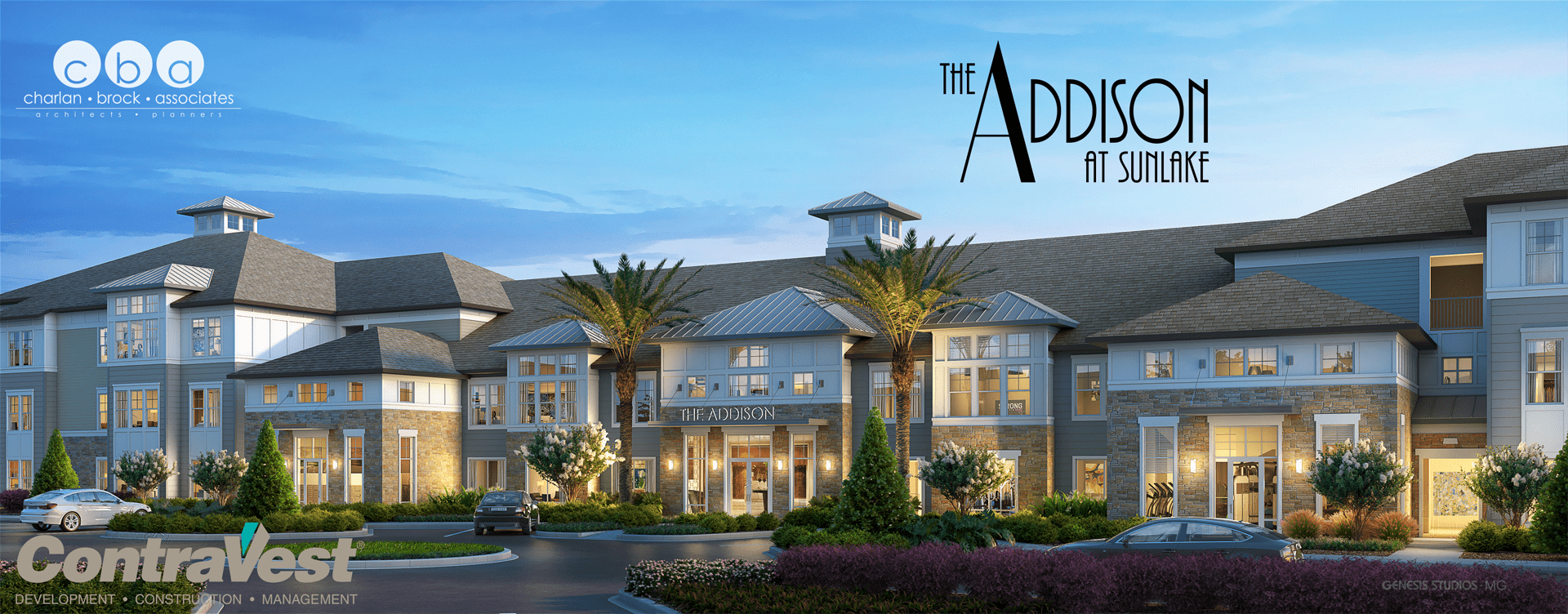 The Addison at Sunlake rendering