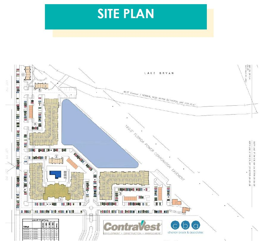 The Addison on Lake Bryan - Site Plan
