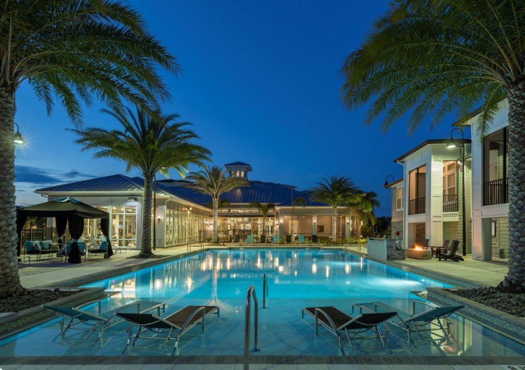 The Addison on Long Bayou pool