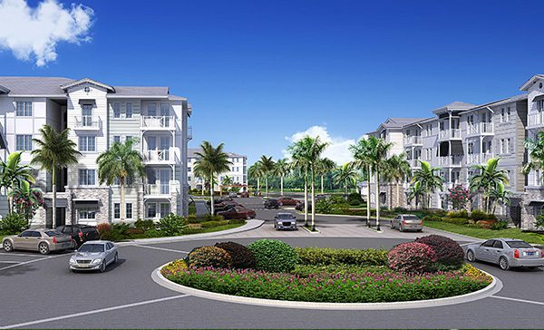 The Enclave 3230 South Daytona Rendering